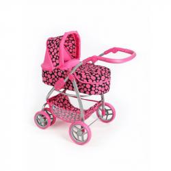 Multifunkčný kočík pre bábiky PlayTo Jasminka ružový