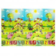 Casmatino dětská skládací podložka PIGGY – 2000x1400x10