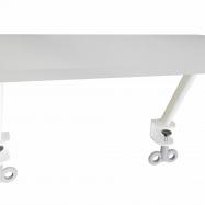 Odkladacia polička biela pre stôl Roland III