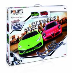 Polistil Autodráha High Speed Chase Track Set 1:43
