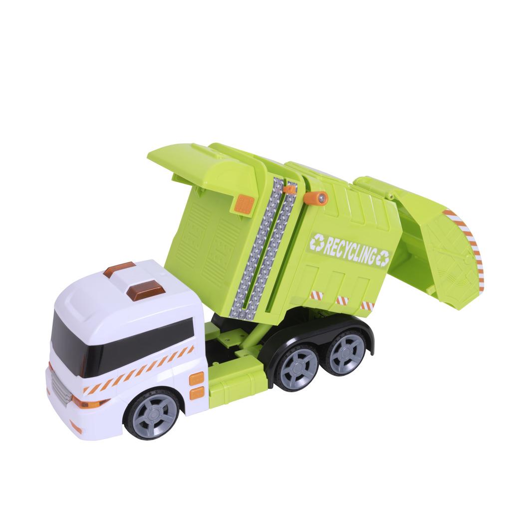 Teamsterz popelářské auto se zvukem a světlem