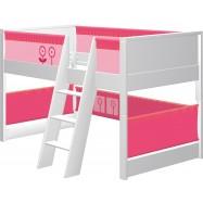 Dětská postel s prostorem na hraní Haba Matti 7808 růžová