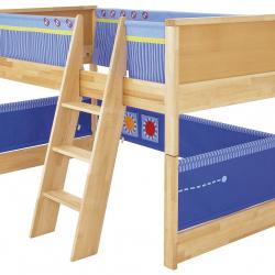 Dětská postel s prostorem na hraní Haba Matti 8375 modrá