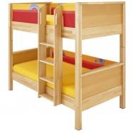 Poschoďová postel Haba Matti 8377 červená