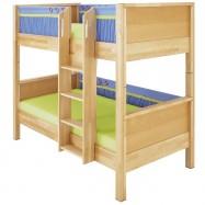 Poschoďová postel Haba Matti 8377 modrá