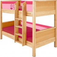 Łóżko piętrowe Haba Matti 8377 różowe