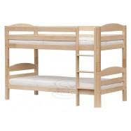 Łóżko piętrowe Scarlet Sofie naturalne 200x90 cm