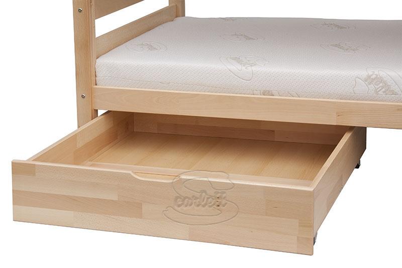 Šuplík k posteli Scarlett SOFIE a SAFIRA přírodní