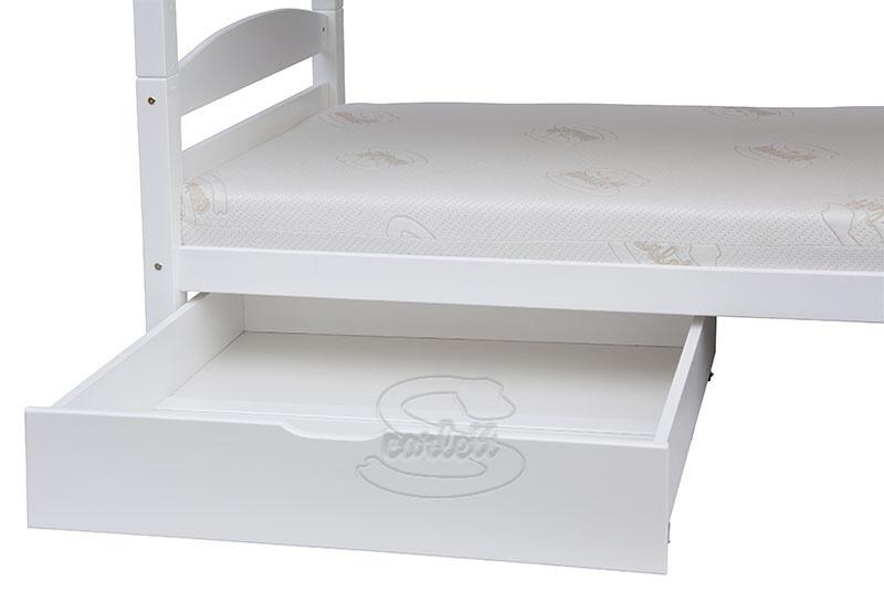 Šuplík k posteli Scarlett SOFIE a SAFIRA bílý