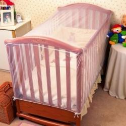 Siatka przeciw owadom do łóżeczka