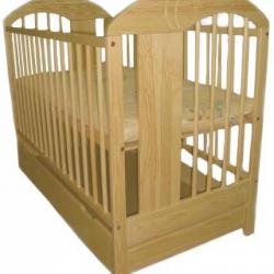 Detská posteľ Klupš Radek VII prírodná so zásuvkou