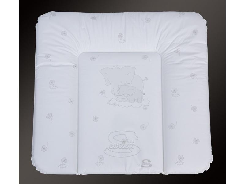 Přebalovací podložka na komodu Bílá 74 x 72 cm