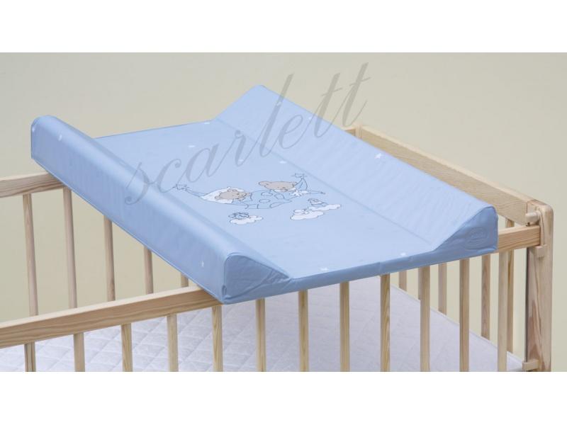 Přebalovací podložka s pevnou vložkou 70 x 50 cm Modrá