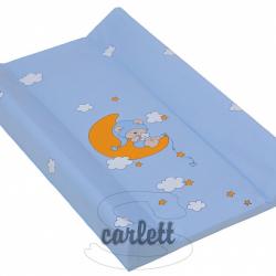 Přebalovací podložka měkká 70 x 50 cm Modrá