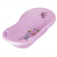 Dětská vanička Hippo 84 cm, sv.fialová