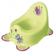 Detský nočník Hippo, zelená