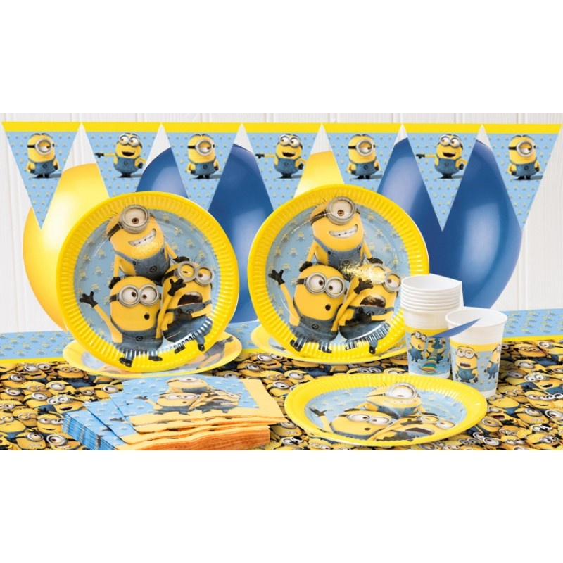 PROCOS talíř papírový 23 cm Mimoňové - Mimoni 8 ks