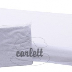 Prostěradlo froté Lux na gumu 120x60cm- bílé