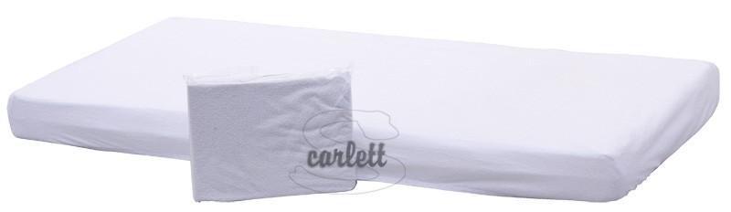 Prostěradlo nepropustné 120x60cm - bílé