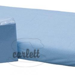Prostěradlo froté Lux na gumu 120x60cm- modré