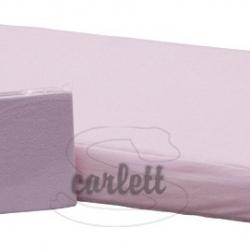 Prostěradlo froté Lux na gumu 120x60cm- růžové