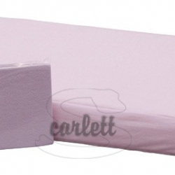 Prestieradlo froté Lux na gumu 120x60cm- ružové