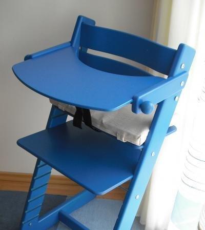 Jídelní pultík + stabilizační botičky k dětské rostoucí židli JITRO