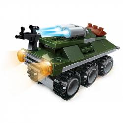 Qman QM-09 Amphibious Panzer 1803-6 Bojové vozidlo Seal ATGM