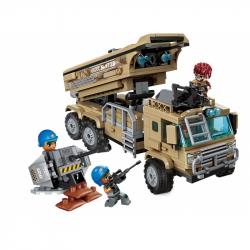 Qman Combat Zone 1728 Vojenský automobil s raketami