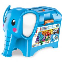 Qman Build N Learn 2903 Stavebné box slon