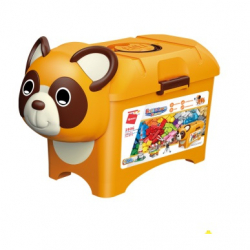 Qman Build N Learn 2906 Stavebné box medvedík