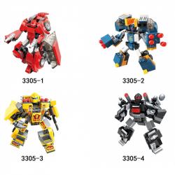 Qman Blast Ranger 3305 sada 4 kusov