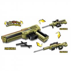 Qman Neobmedzené nápady 4802 Zbraň Dilemma 3v1