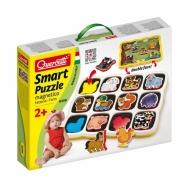Quercetti Smart Puzzle magnetico Farm