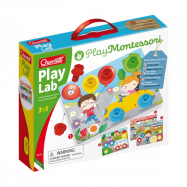Quercetti Play Lab nuts & bolts boards – tabulky se šroubky a matičkami
