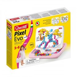 Mozaika Pixel Evo Girl Small 160 elementów Quercetti