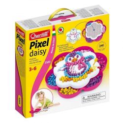 Mozaika Pixel Daisy Kurka 240 elementów Quercetti