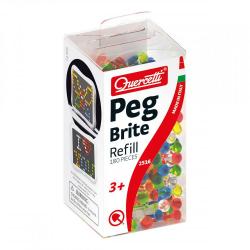 Quercetti Peg Brite - zapasowe kołki do podświetlanej mozaiki