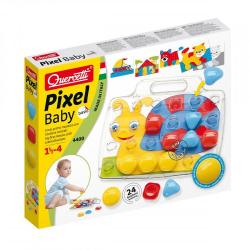 Mozaika Pixel Baby Basic 24 elementy Quercetti
