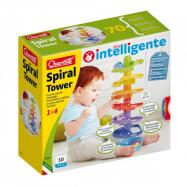 Quercetti Spiral Tower – spirálová kuličková dráha