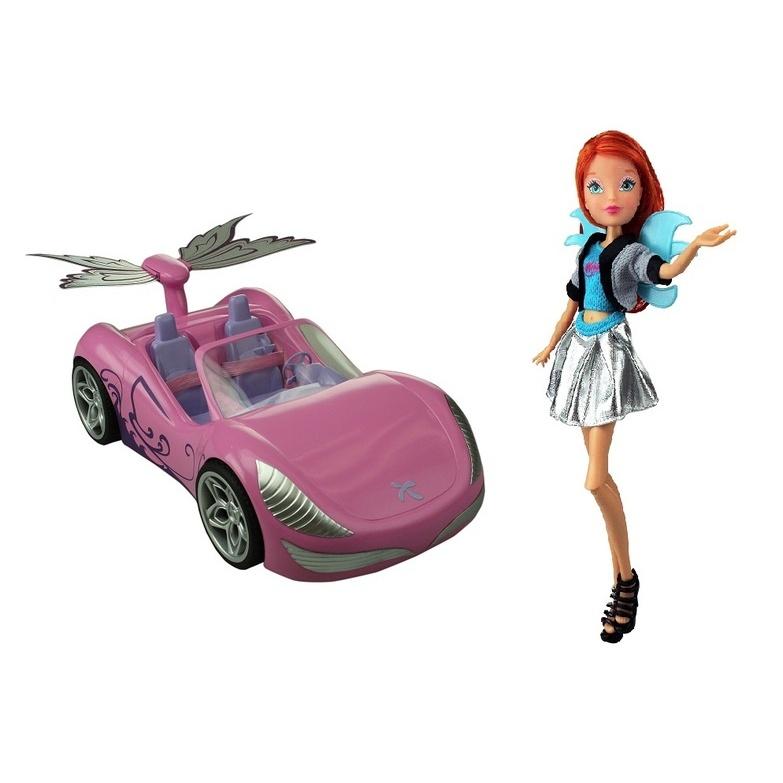 Winx: Bloom a magické auto (1/3)