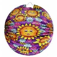 lampion koule, slunečnice, 25 cm