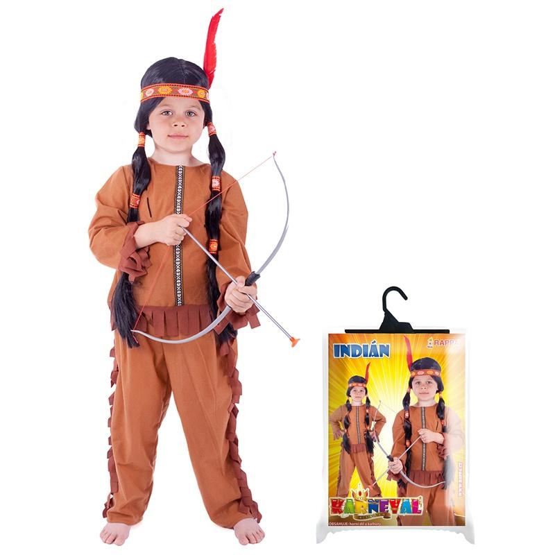 karnevalový kostým indián se střapci 576a1b88e3