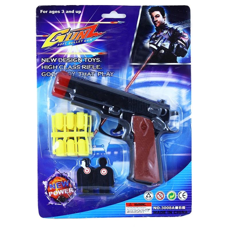 Pistole na gumové náboje