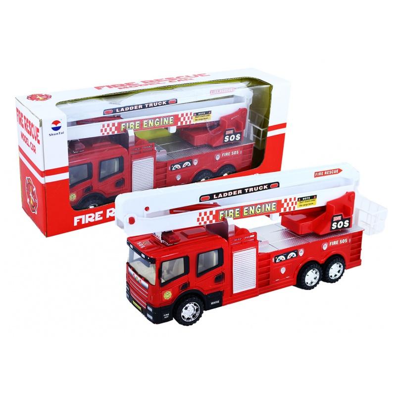 Auto hasičské s plošinou