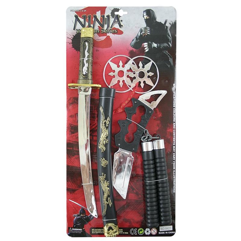 sada ninja na blistru