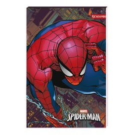 Notes A6 Spider-man, 30 listů
