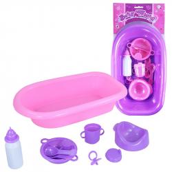 Vaňa pre bábiky s príslušenstvom, 2 dr.