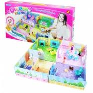 domeček 3D pro panenky