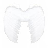 Křídla andělská s peřím